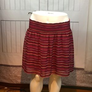 OLD NAVY STRIPPED SKIRT SIZE XL
